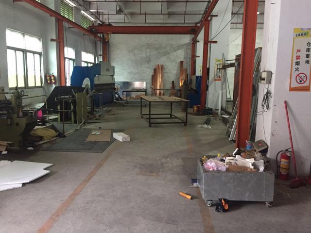 虎门龙眼工业区新出标准厂房一楼1350平方带豪华装修办公室