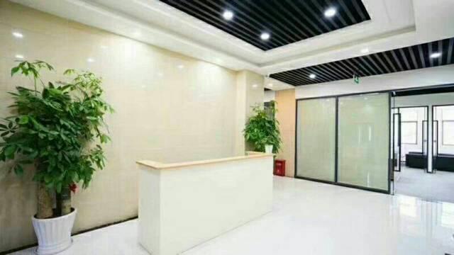 福永地铁口新出精装写字楼出租