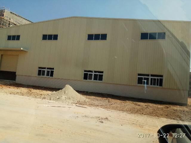 茶山镇全新钢构厂房4600平方滴水9米