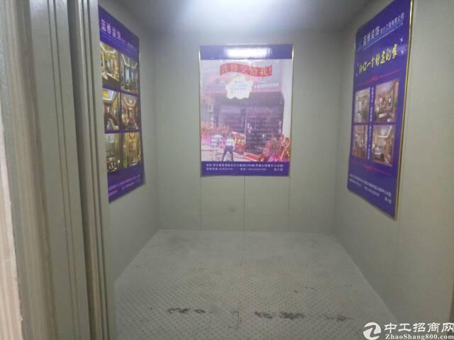 500平米,带现成办公室,大货梯,适合小加工。