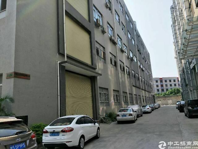 大岭山大型工业园标准厂房楼上3200平方出租