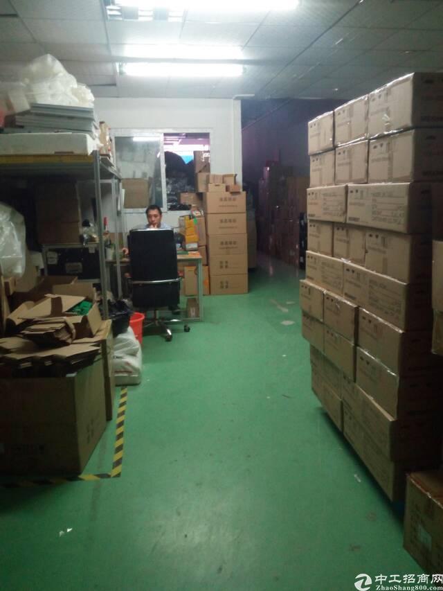 龙华油松标准厂房楼上1000平精装修,客户原合同转让