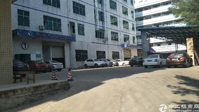 龙岗坪地700平一楼带装修厂房出租高6米空地超大