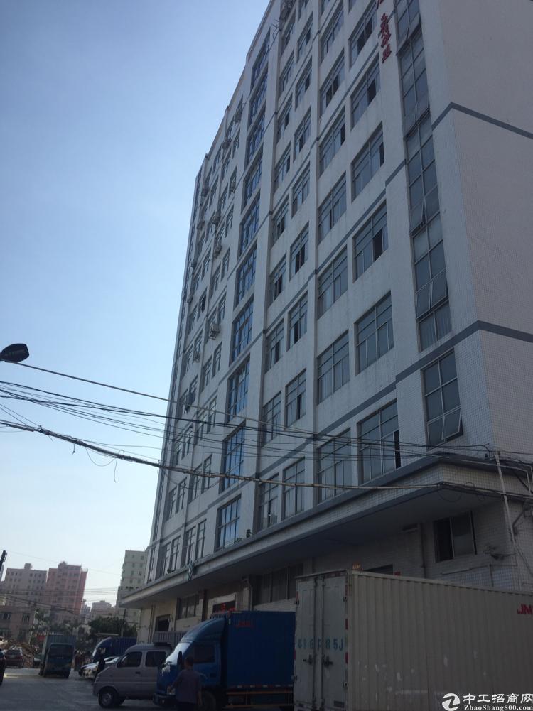 公明楼村新出三楼半层500带办公室仓库车间