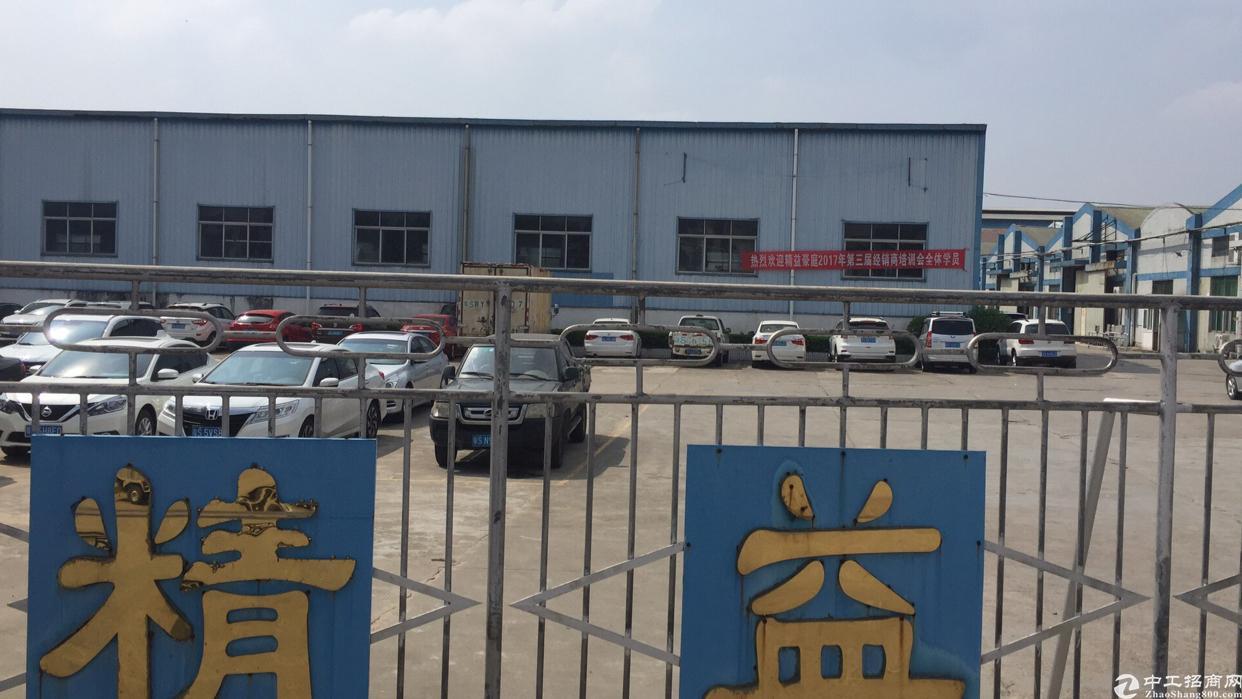 公明将石钢构厂房2000平方8米高招租