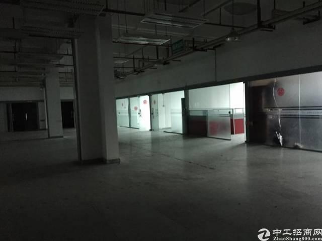 坂田华为出口大型园区整层3000平方带装修厂房-图5