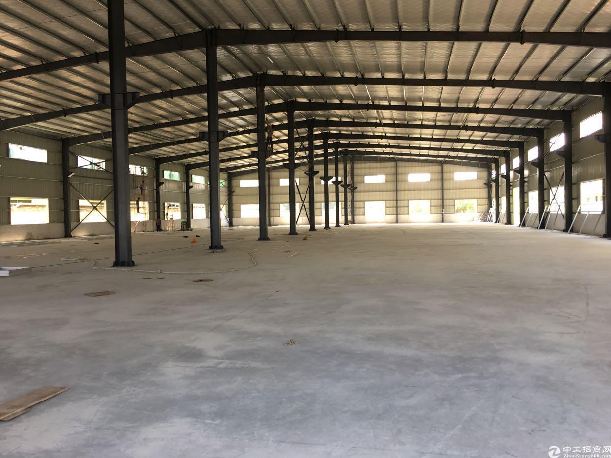 横沥独院钢结构厂房3200平方米出租