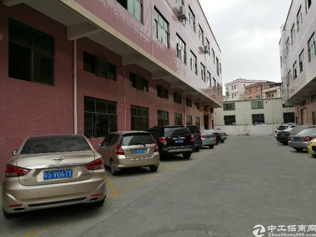 常平镇袁山贝新出标准一楼6米高厂房1500平米