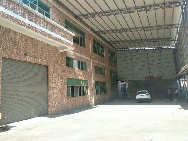 观澜隔壁镇区新出独门独院厂房,一楼滴水6米,带牛角