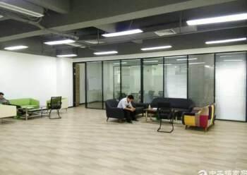 西丽天虹800平精装办公室出租图片2