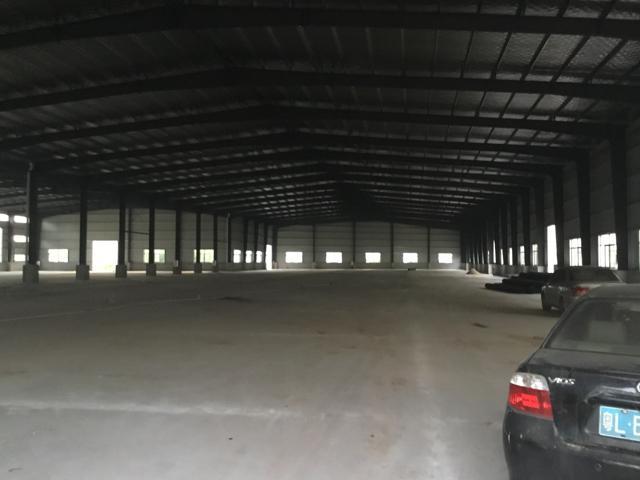 惠州仲恺高新区全新红本钢构13000平米、9米高