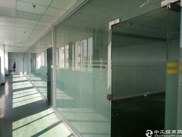 公明玉律新出楼上5000平方,带装修,玻璃办公室,招租