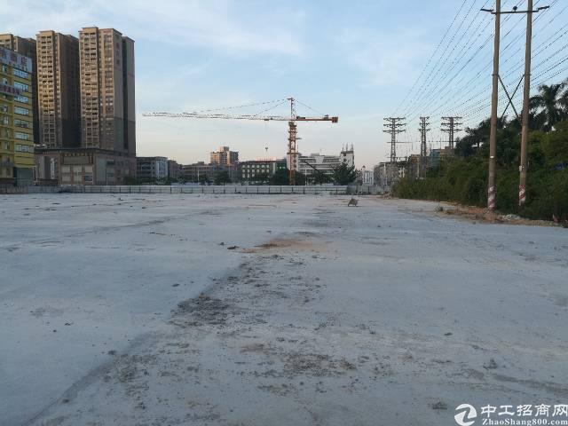 公明镇中心新出一万平方空地租。