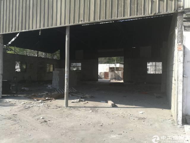 龙华大浪英泰工业区附近一楼300-600平铁皮房出租