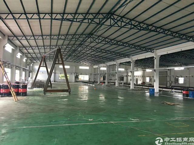 惠阳秋长358省道边独院钢构厂房4000平、滴水6.5米
