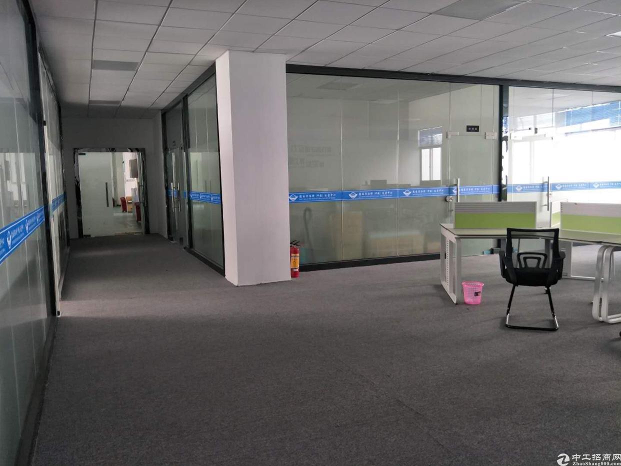 坪山出租新区高速出口大型工业区带豪华精装修办公室1200平