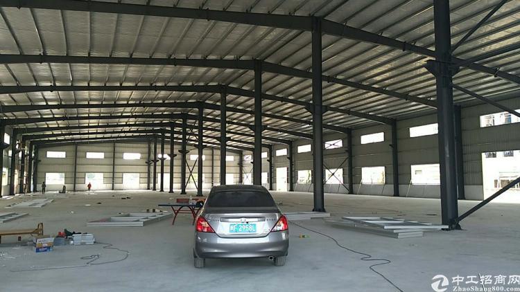 企石镇全新独栋钢构厂房,靠山适合有些污染行业