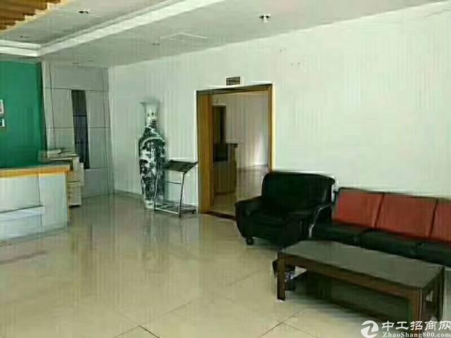 福永107国道边独门独院4100带装修厂房出租