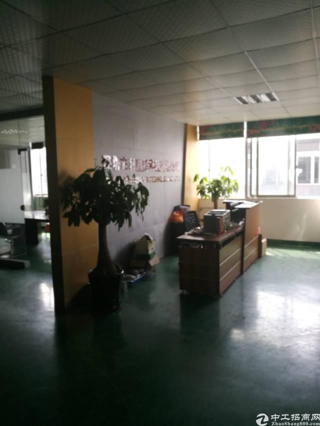 松岗燕川2楼2000平方带装修厂房出租