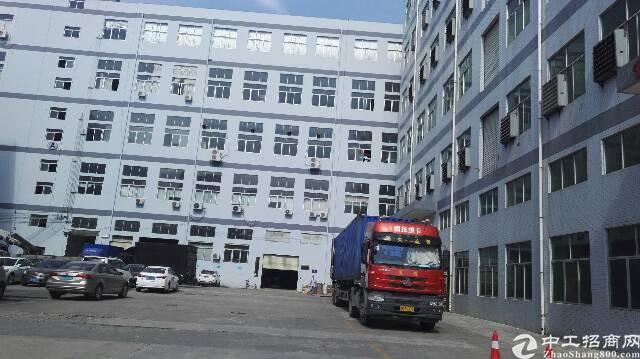 松岗大田洋大型工业园楼上3000平方有装修厂房出租