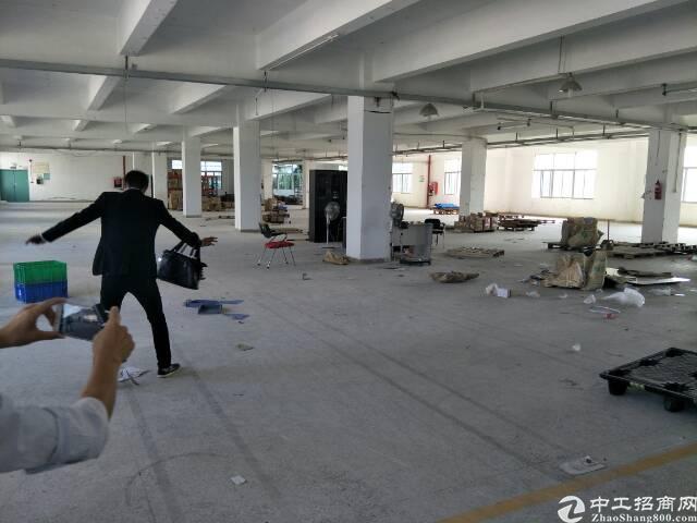 二楼780平米厂房现成隔断招租