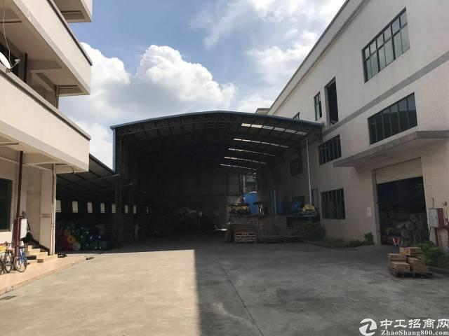 黄江镇建筑7000平方集体证厂房出售