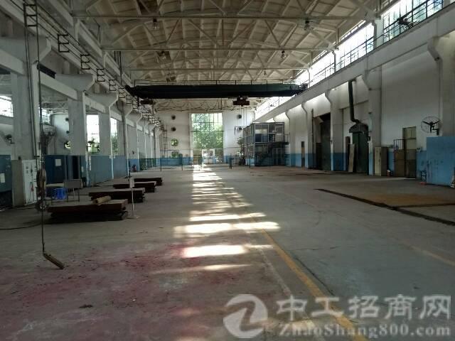 观澜福民滴水12米高带行车钢构厂房招租