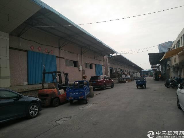 西丽高速路口旁新出1500平带卸货平台低价仓库出租
