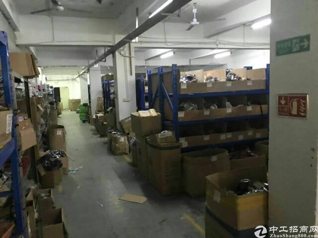布吉南岭人人购物广场1200平带装修厂房出租