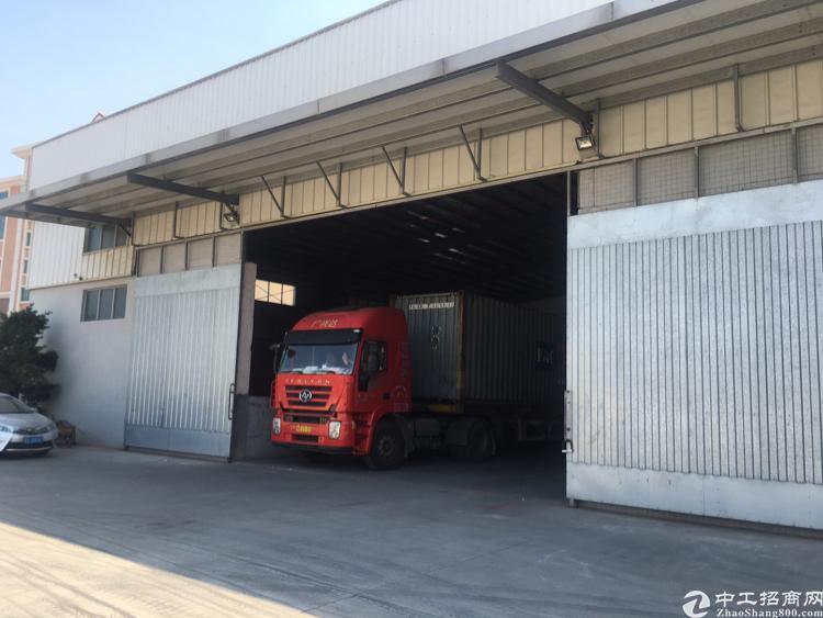 厚街单一层仓库,带卸货平台
