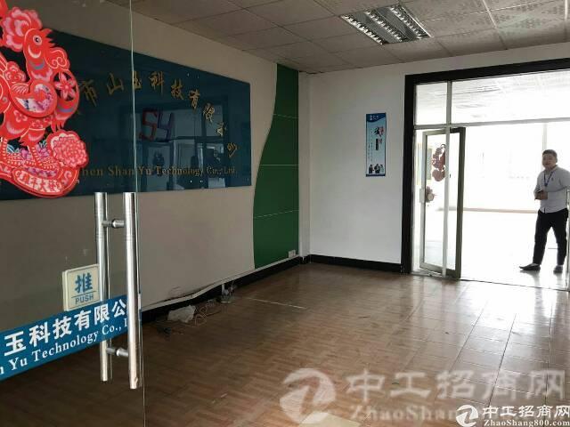 松岗中学附近新出楼上带装修1800㎡厂房招租-图4