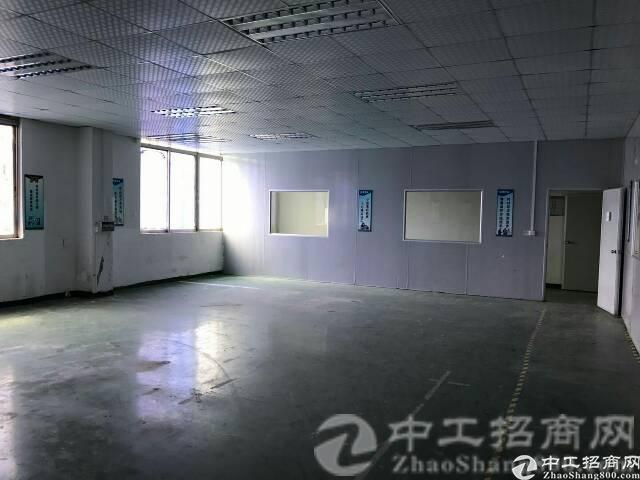 松岗中学附近新出楼上带装修1800㎡厂房招租-图5
