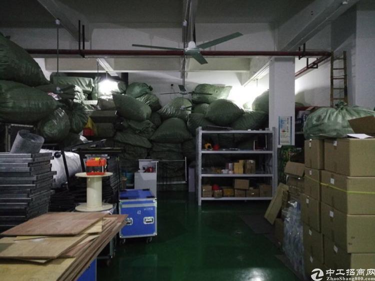龙华和平路边距离龙华地铁站900米3楼1200平精装修厂房-图2