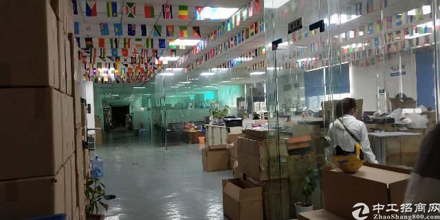 松岗东方大道边新出楼上带办公室装修厂房转租-图4
