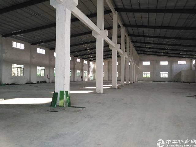 石碣新出原房东标准厂房一楼1000㎡,实际面积,带牛角,现房