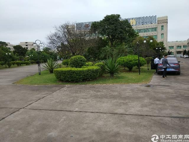 陈江主干道边大型工业园楼上1500平方米厂房带装修办公室