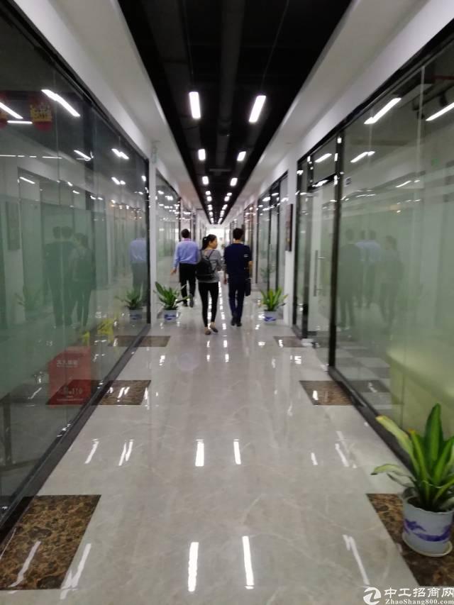 龙华清湖零距离带精装修写字楼300平招租