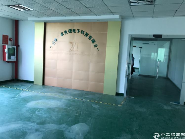 龙华大浪新百丽附近简单装修厂房楼上1500平