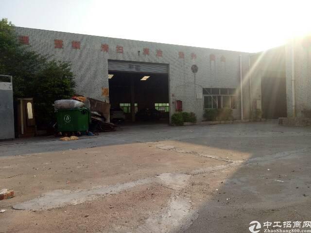 黄江镇合路村原房东8米钢构仓库出租