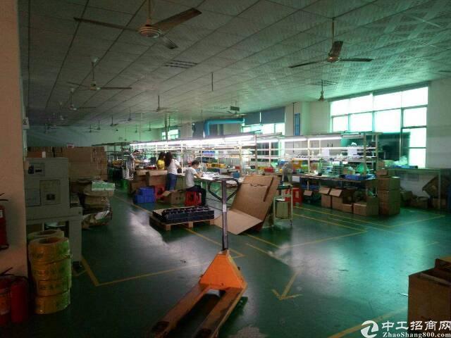清湖地铁站带精装修1350平电商仓库厂房
