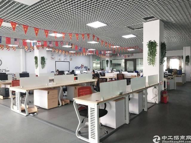西乡固戌宝安大道附近 楼上900平米厂房 带装修