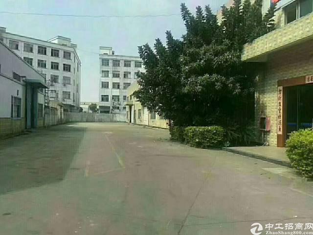 福永沿江高速出口附近单一层钢构9000平方