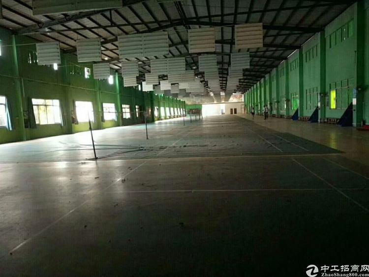 新出玻璃厂房2栋一层滴水10米,7米,厂房7200平米,
