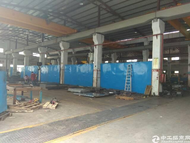 新出10米高带行车钢构厂房4000平方招租
