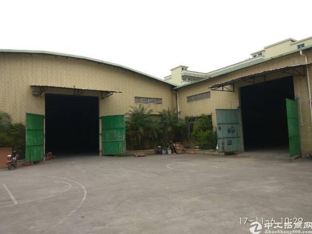 茶山独门独院7000平方铁皮房