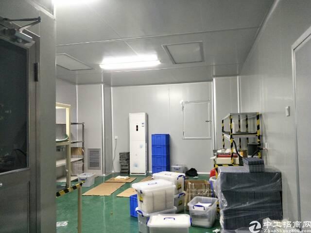 公明镇李松朗楼上新出800平方精装修厂房