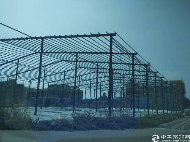 惠阳经济开发区10米高在建钢构8000平