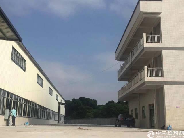 常平侨新全新单一层7500平方厂房出租!