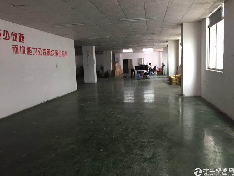 福永107国道旁1500平精装厂房出租
