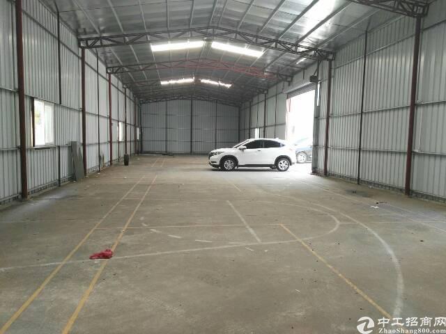 高埗镇工业园区内独栋单一层钢构厂房出租